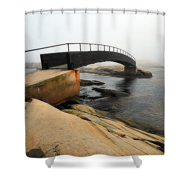 World's End 3 Shower Curtain