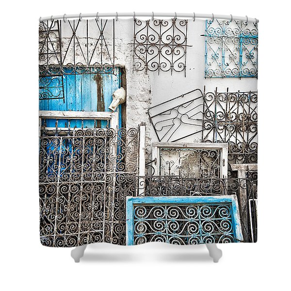Wrought Iron 1 Shower Curtain