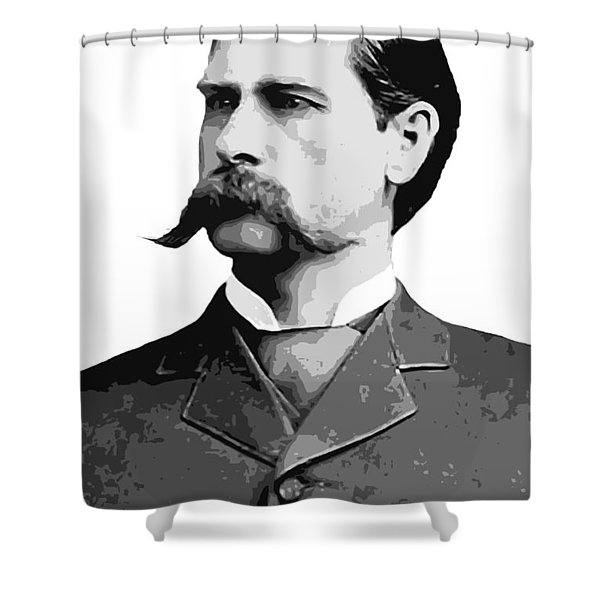 Wyatt Earp Legend Of The Old West Shower Curtain