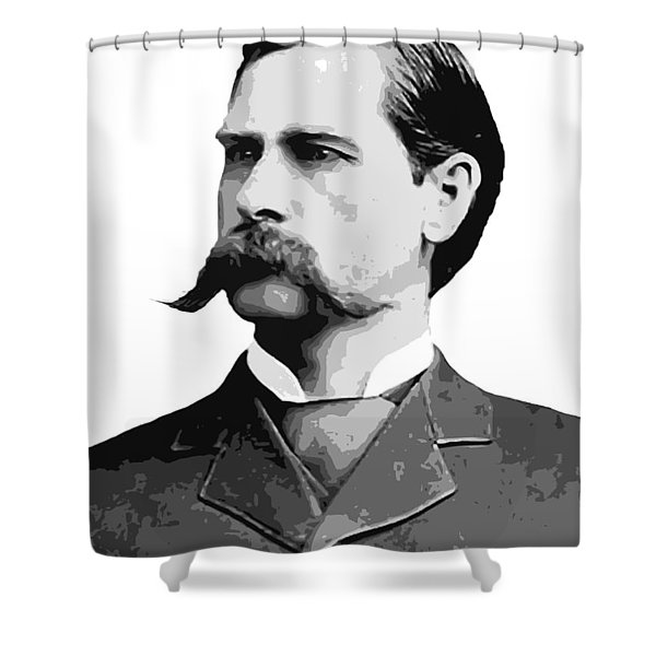 Wyatt Earp Old West Legend Shower Curtain
