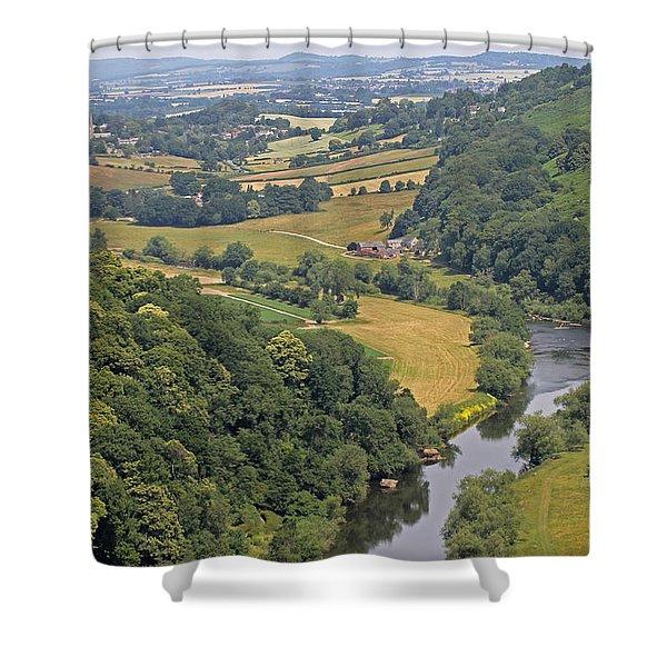 Wye Valley Shower Curtain
