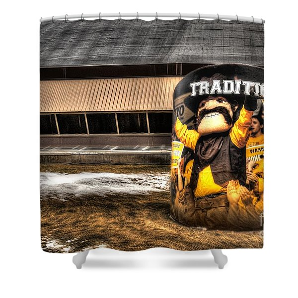Wyoming Tradition Shower Curtain