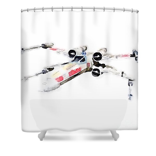 X-wing Shower Curtain