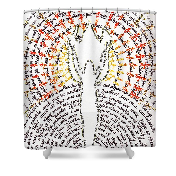 Ye Are The Light Of The World Shower Curtain