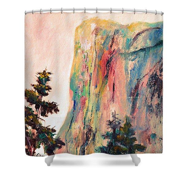 Yosemite El Capitan Shower Curtain