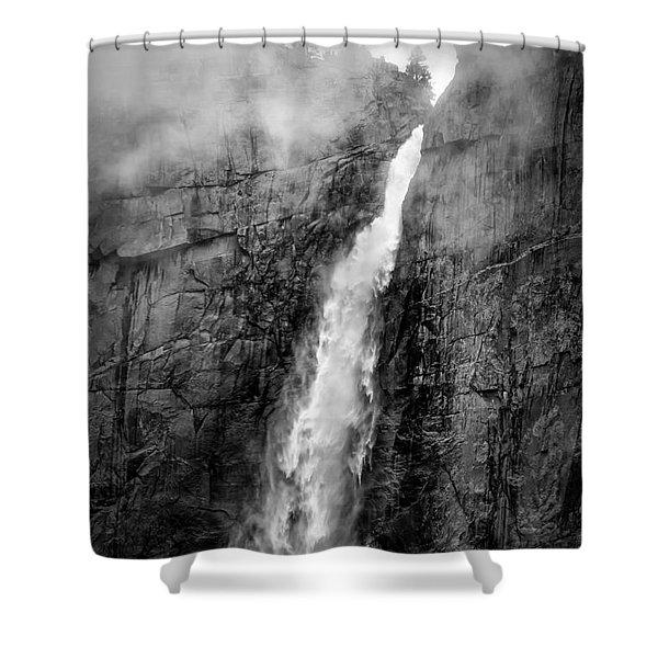 Yosemite Fall Shower Curtain