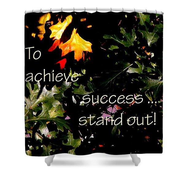 You Are Outstanding 21079 Shower Curtain