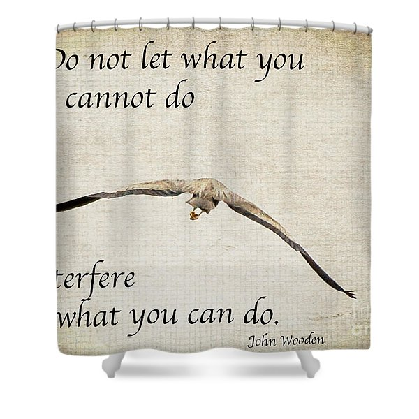 You Can Do It  Shower Curtain