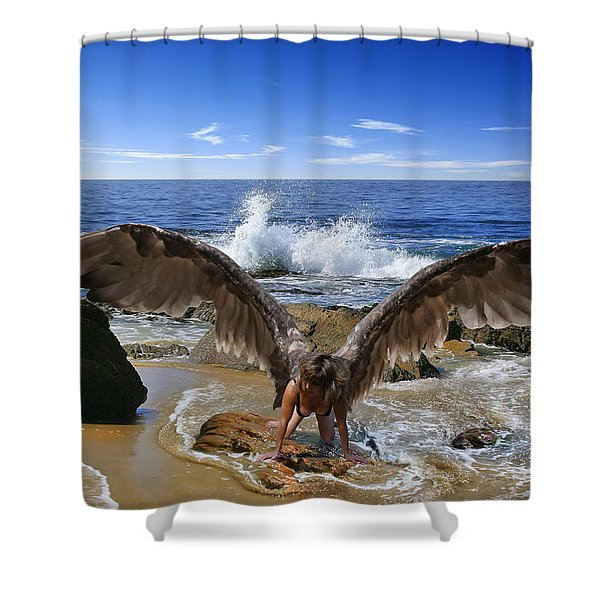 You Cried Out And I Came Shower Curtain