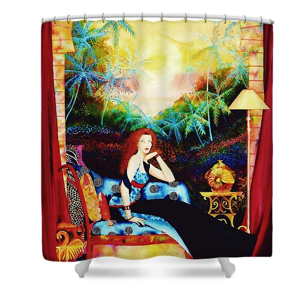 Young Debutante Shower Curtain