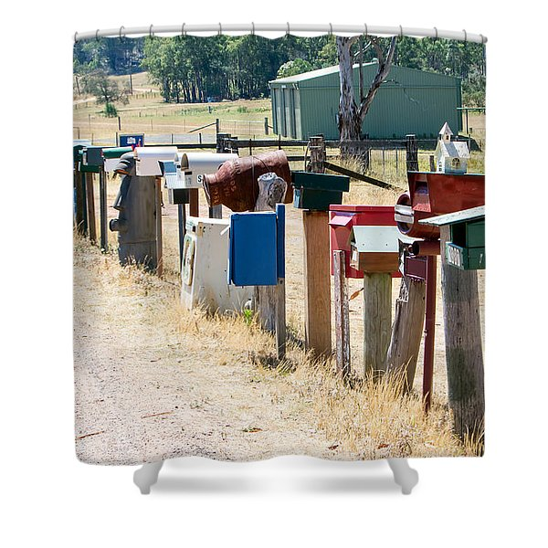 You've Got Mail Shower Curtain