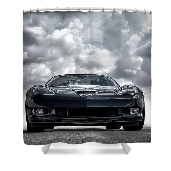 Z06 Shower Curtain