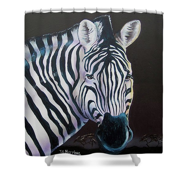 As Night As Day  Shower Curtain