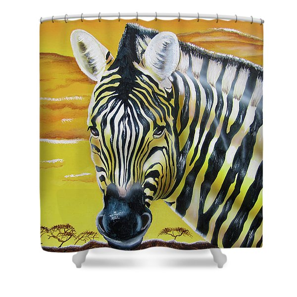 As Day As Night Shower Curtain