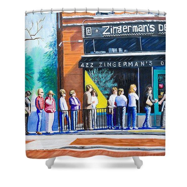 Zingerman's Deli Shower Curtain