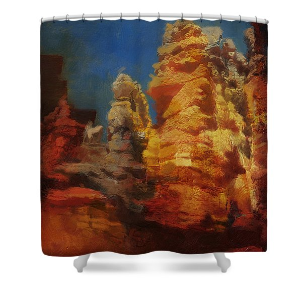 Zion Canyon Shower Curtain