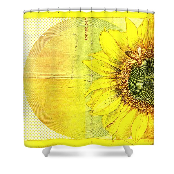 Zonnebloem Shower Curtain