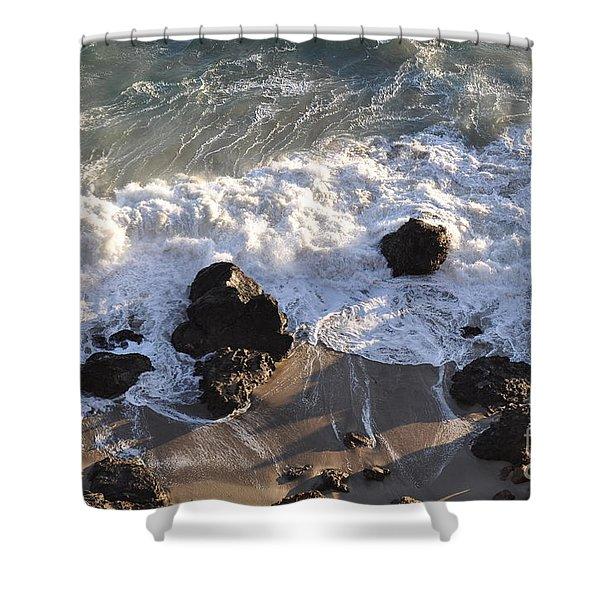Zuma Beach Shower Curtain