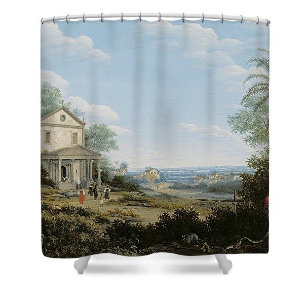 Brazilian Landscape Shower Curtain