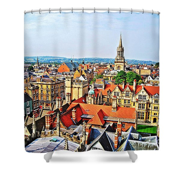 Oxford Cityscape Shower Curtain
