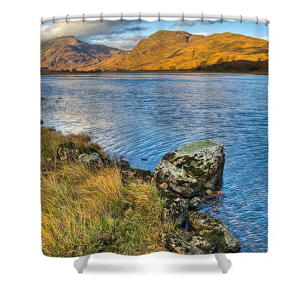 Glen Gour View Shower Curtain