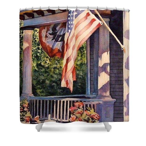 Hot August Night Shower Curtain