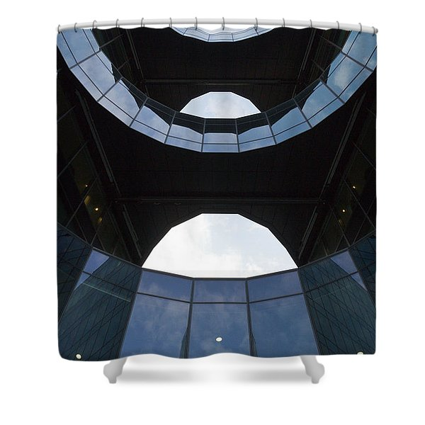London Southbank Building Shower Curtain