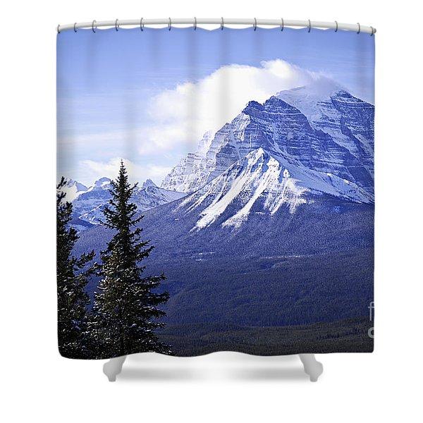 Mountain Landscape Shower Curtain
