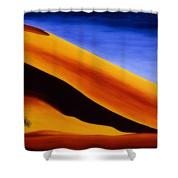 Namibia 2 Shower Curtain