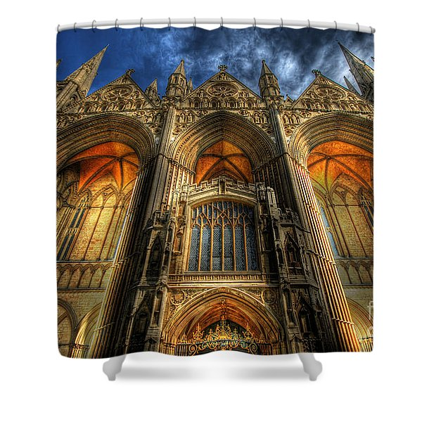 Peterborough Cathedral Shower Curtain