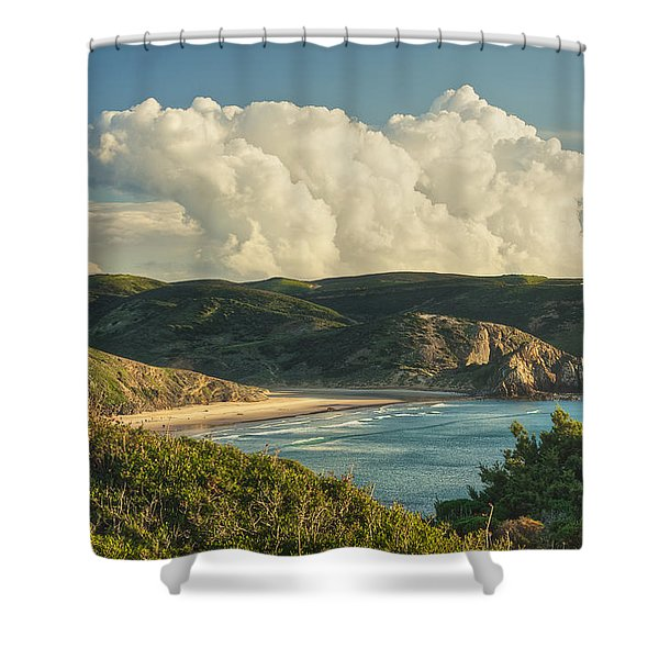 Praia Do Amado Shower Curtain