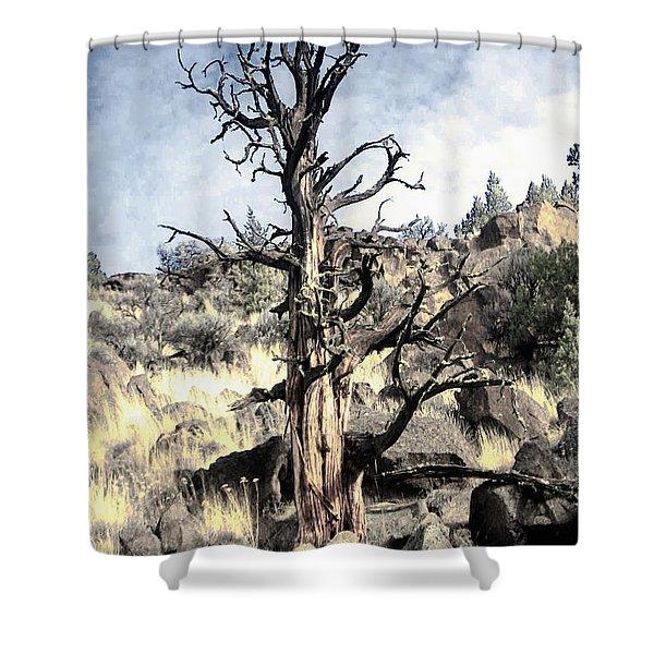 Redmond Tree Shower Curtain