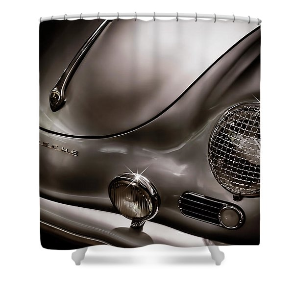 Silver Ghost Shower Curtain