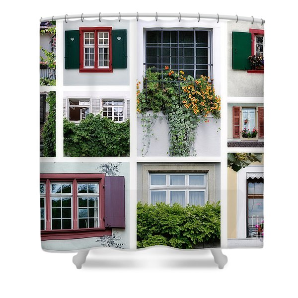 Swiss Windows Shower Curtain