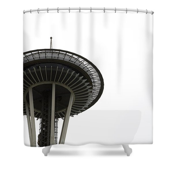Shower Curtain featuring the photograph The Needle by Lorraine Devon Wilke