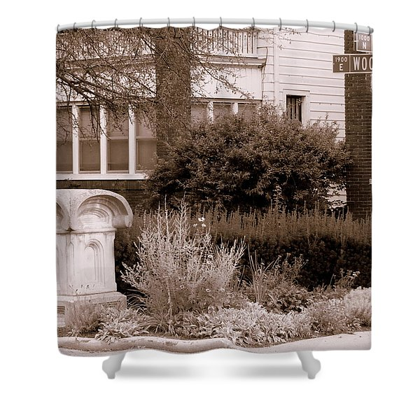 10th And Woodruff Shower Curtain
