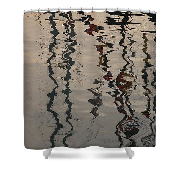 Port Huron To Mackinac Race Shower Curtain