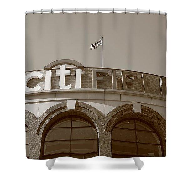 Citi Field - New York Mets Shower Curtain