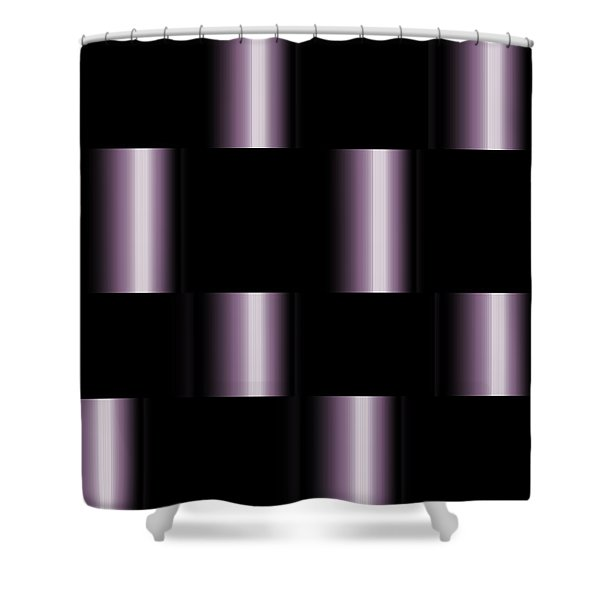 Shower Curtain featuring the digital art The Elements by Mihaela Stancu