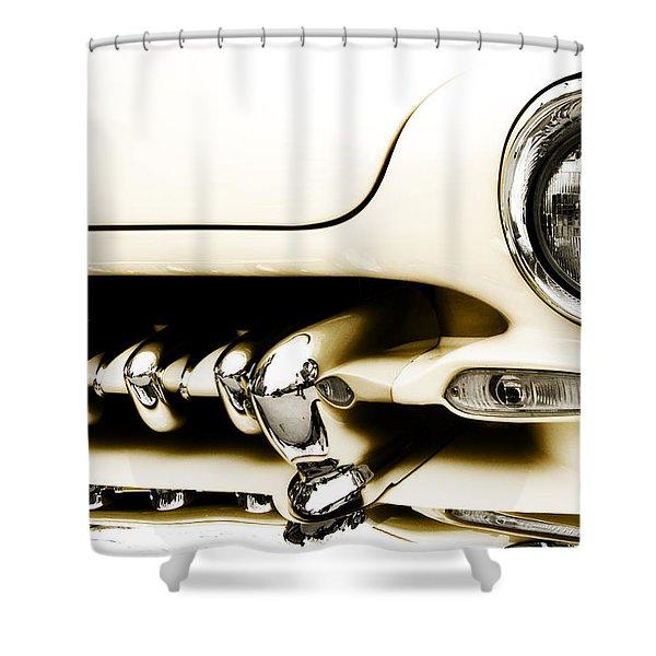 1949 Mercury Shower Curtain