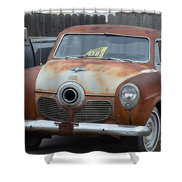 1951 Studebaker Shower Curtain