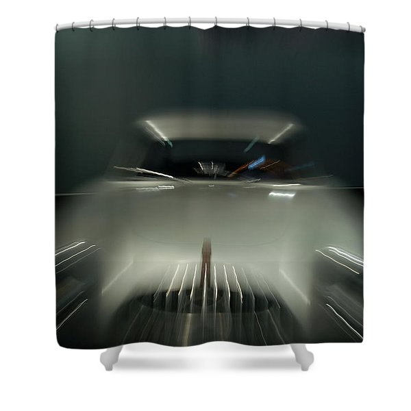 1952 Mercedez Benz Shower Curtain