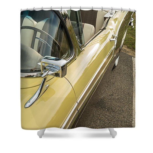 1957 Ford Fairlane 500 Skyliner Retractable Hardtop Convertible Shower Curtain