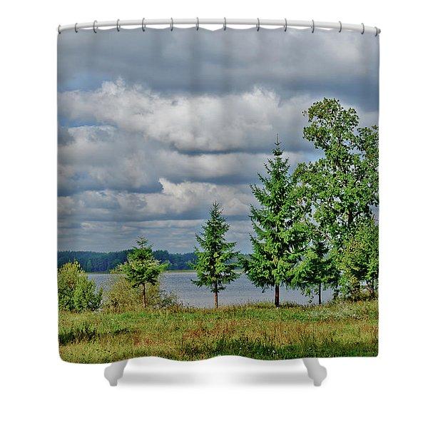 Lake Seliger Shower Curtain