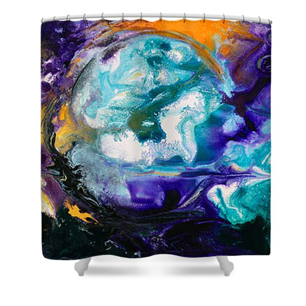 2010 Untitled Series #3  Shower Curtain