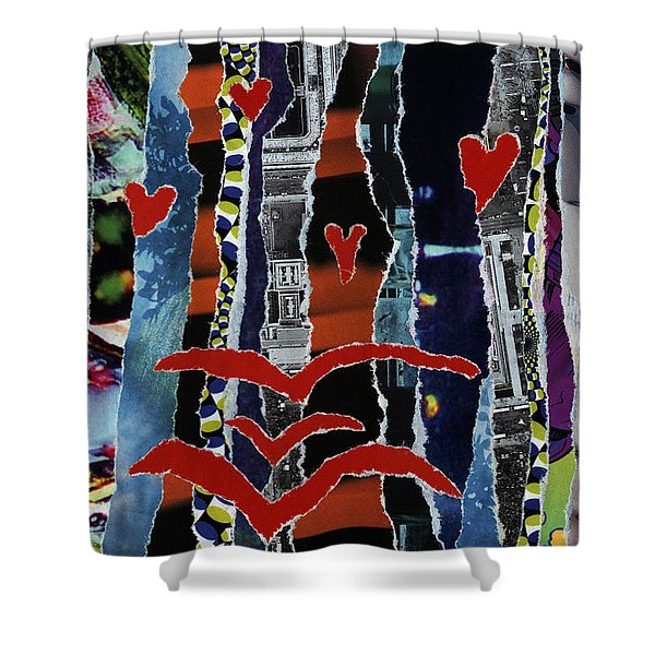 3 Birds And Prey Shower Curtain