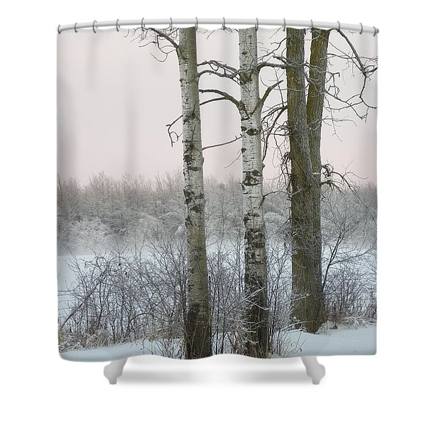 3 Standing Tall Shower Curtain