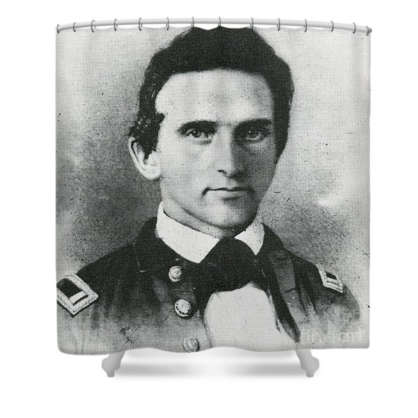 Stonewall Jackson, Confederate General Shower Curtain
