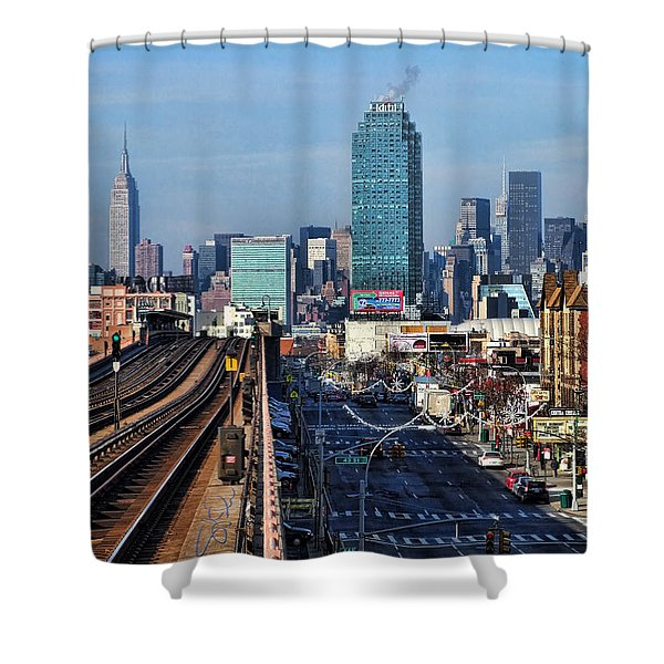 46th And Bliss Shower Curtain