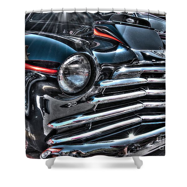 48 Chevy Convertible 2 Shower Curtain
